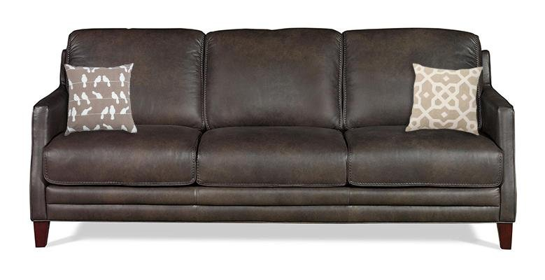 Room to talk rc willey furniture store for Best pillows for leather couch