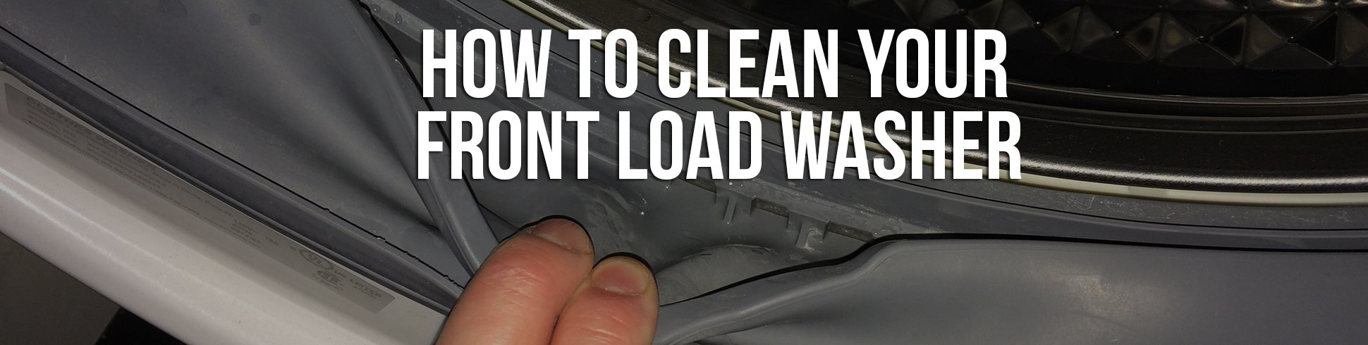how to remove mildew smell from washer machine