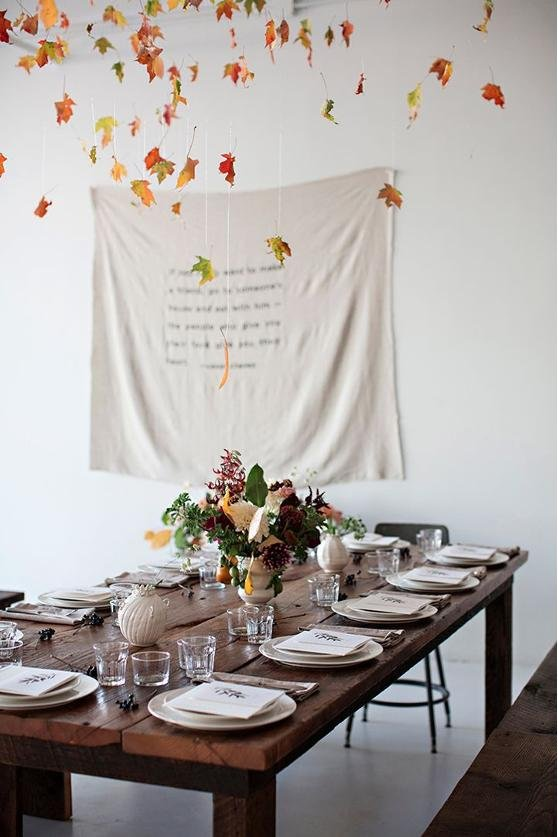 Beautiful Thanksgiving Tables Prepossessing With Fall Thanksgiving Table Setting Images