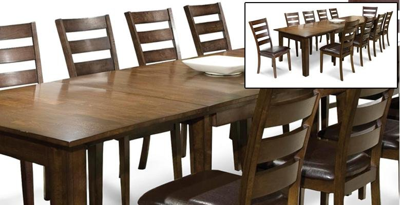 Extra Long Dining Tables For Thanksgiving RC Willey Furniture Store