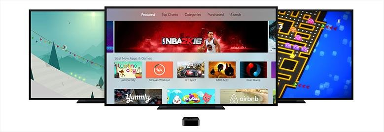 what is apple tv apps