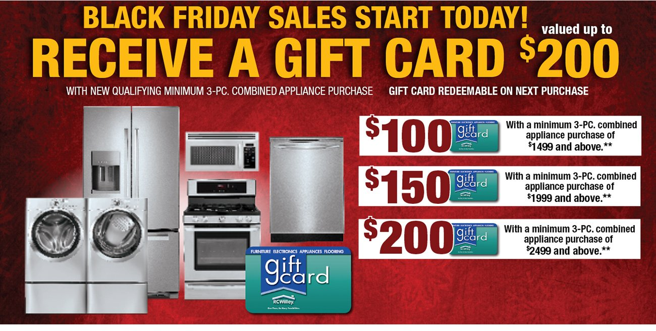 Black Friday Prices Start Today Unheard Of Appliance