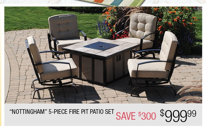 Patio Sale From Gnomes to Fire Pits We Have it All