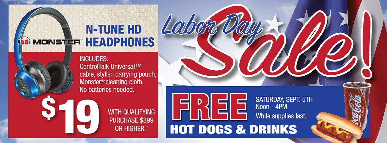 Don 39 t miss our labor day weekend sale rc willey for Labor day weekend furniture sales