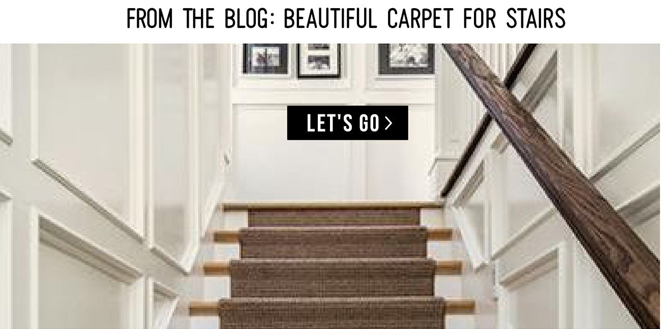 From The Blog Beautiful Carpet