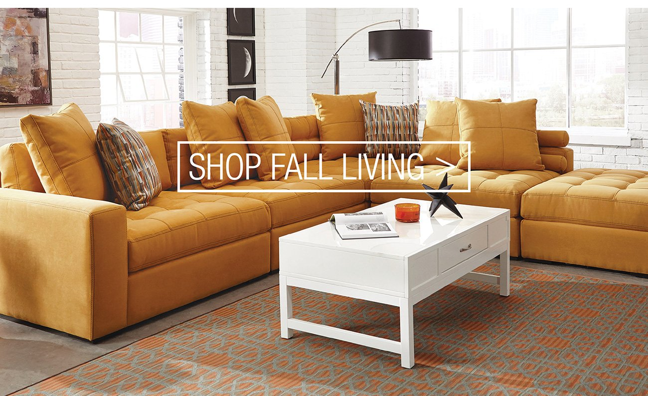 Fall into savings with our new catalog rc willey Shops with living space