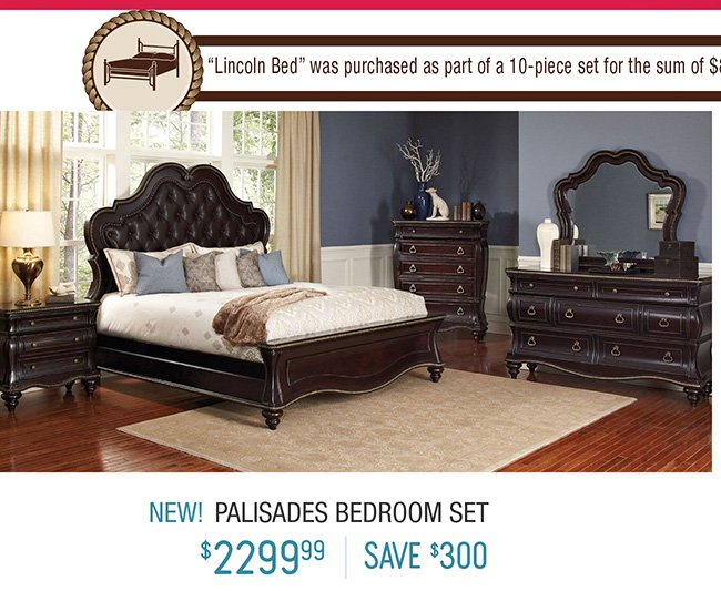 Discover the deals at our columbus day super sale rc for Bedroom furniture set deals