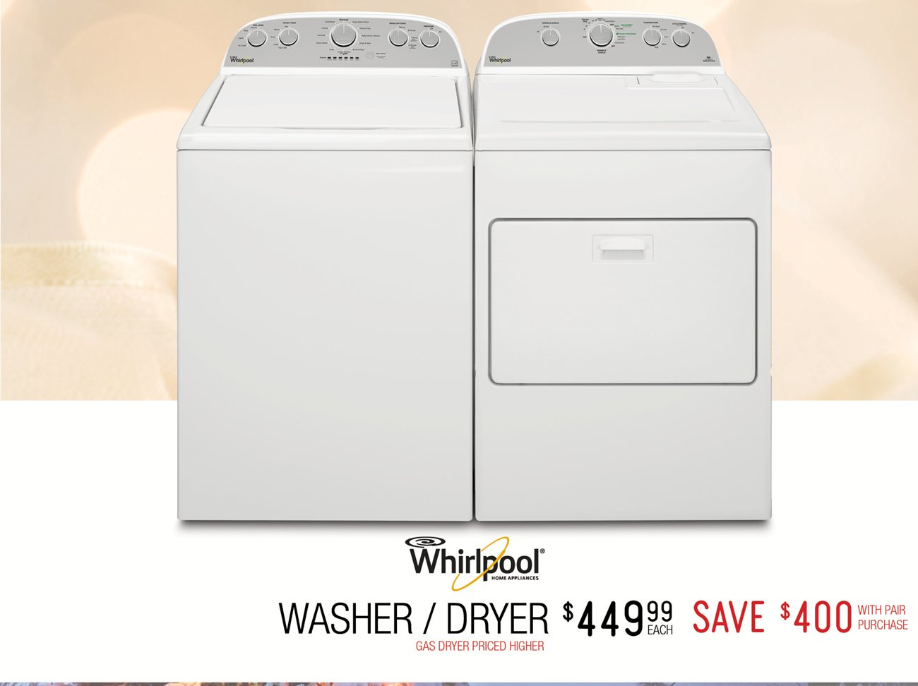 Discount the sales tax this new year rc willey furniture - Whirlpool discount ...
