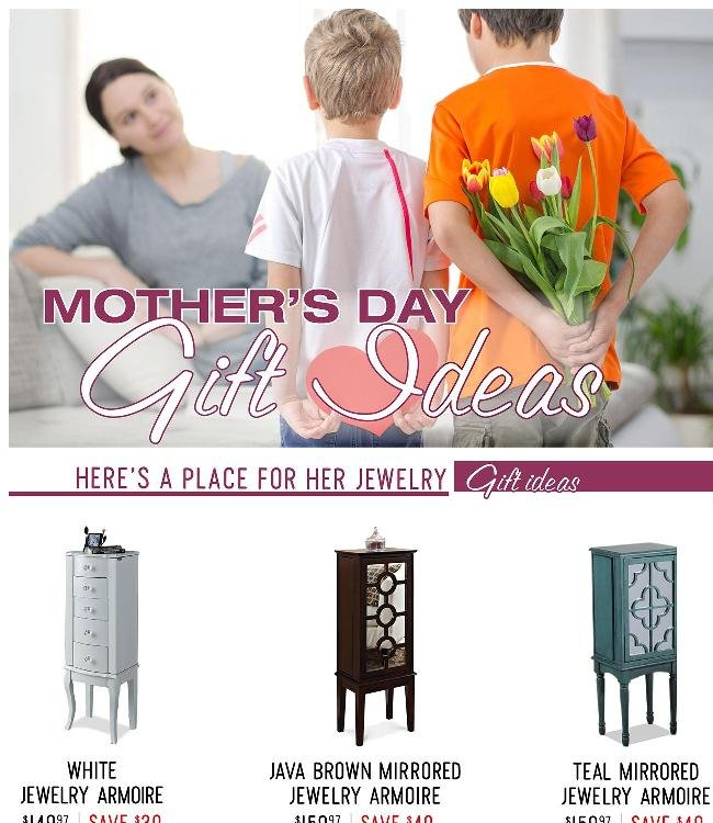 Don't Fret ...We've Got You Covered for Mother's Day