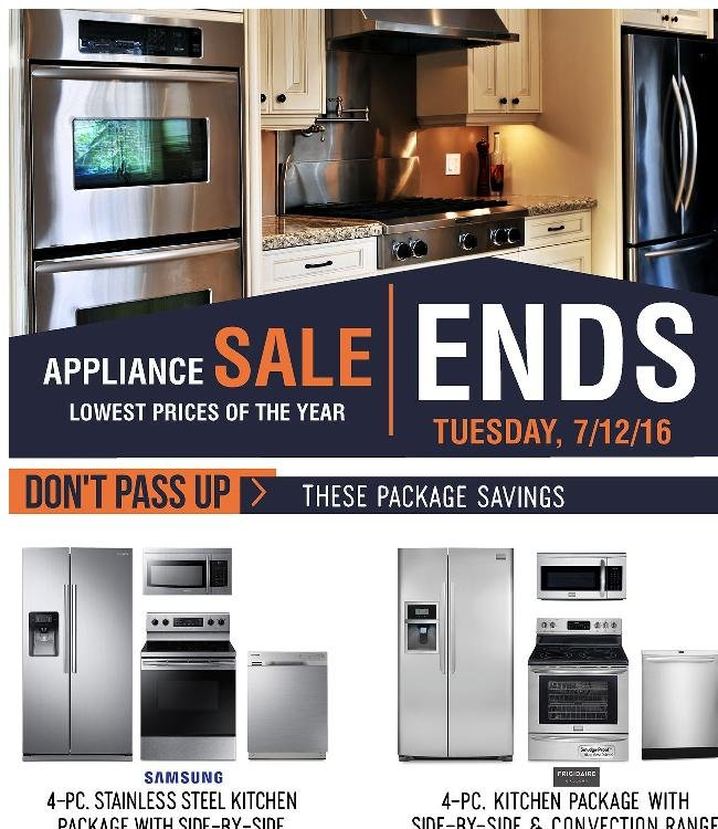 Final 2-Days of Our Biggest Appliance Sale of the Year!