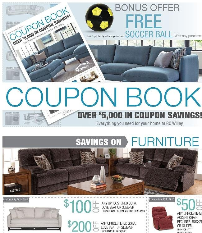 Coupon Book Continues + ⚽ Free Soccer Ball with Purchase