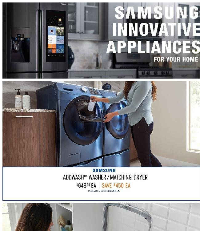 Innovate Your Home with Samsung Smart Appliances
