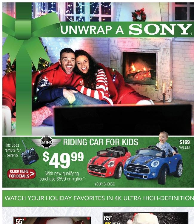 Unwrap a Sony and More Great Holiday Gifts