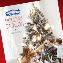 RC Willey Holiday Catalog - Winter 2016
