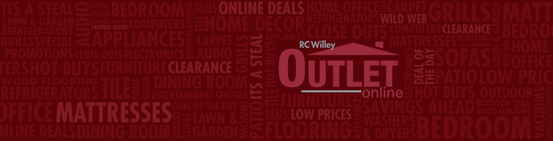 RC Willey Outlet Logo