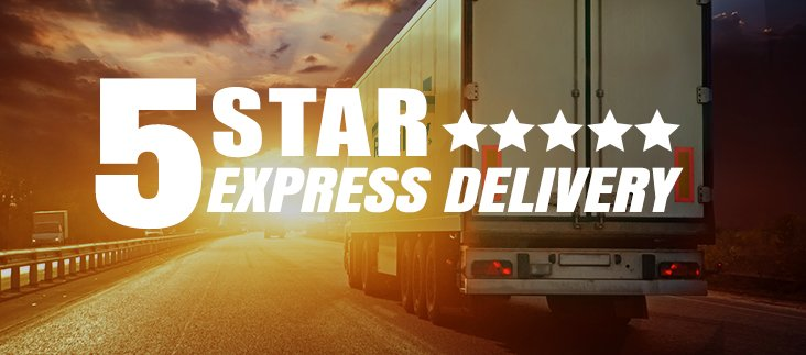5 Star Express Delivery