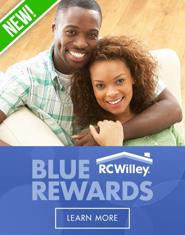 With RC Willy Blue Rewards, get rebates, enhanced warranties, free delivery and more!