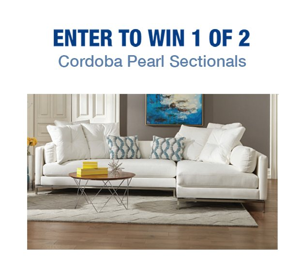 Enter to Win Cordoba Pearl Sectionals