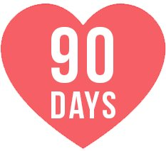 90 days love it or replace it