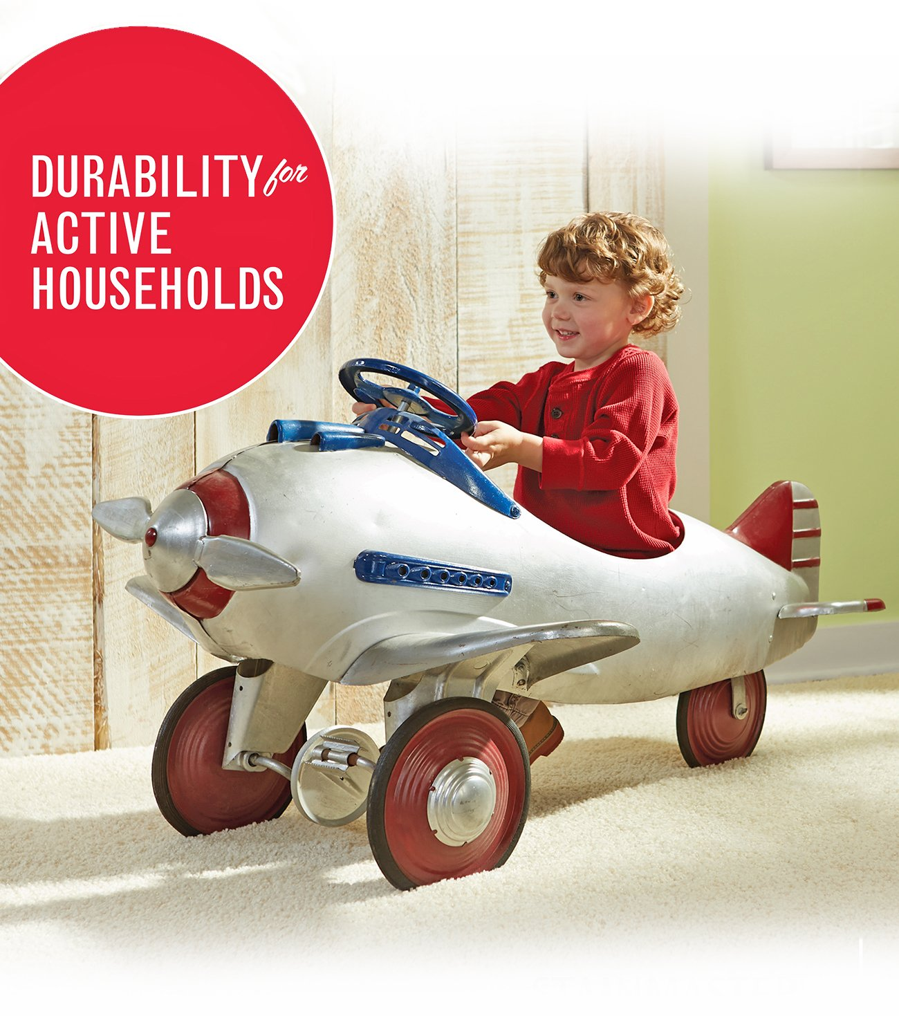 Stainmaster Durability for Active Households