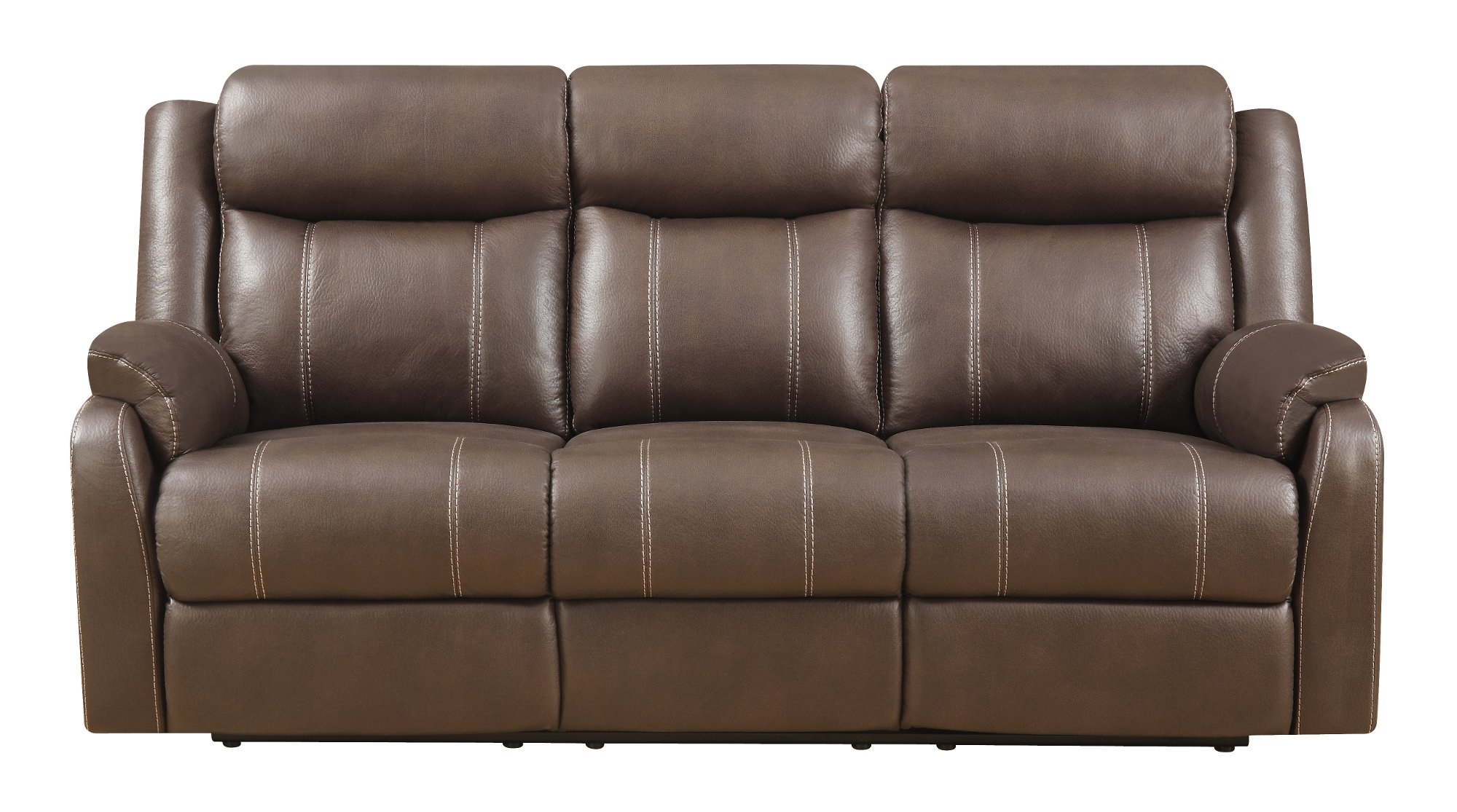 Valor Chocolate Brown Reclining Sofa Recling Loveseat Domino Rc Willey Furniture Store