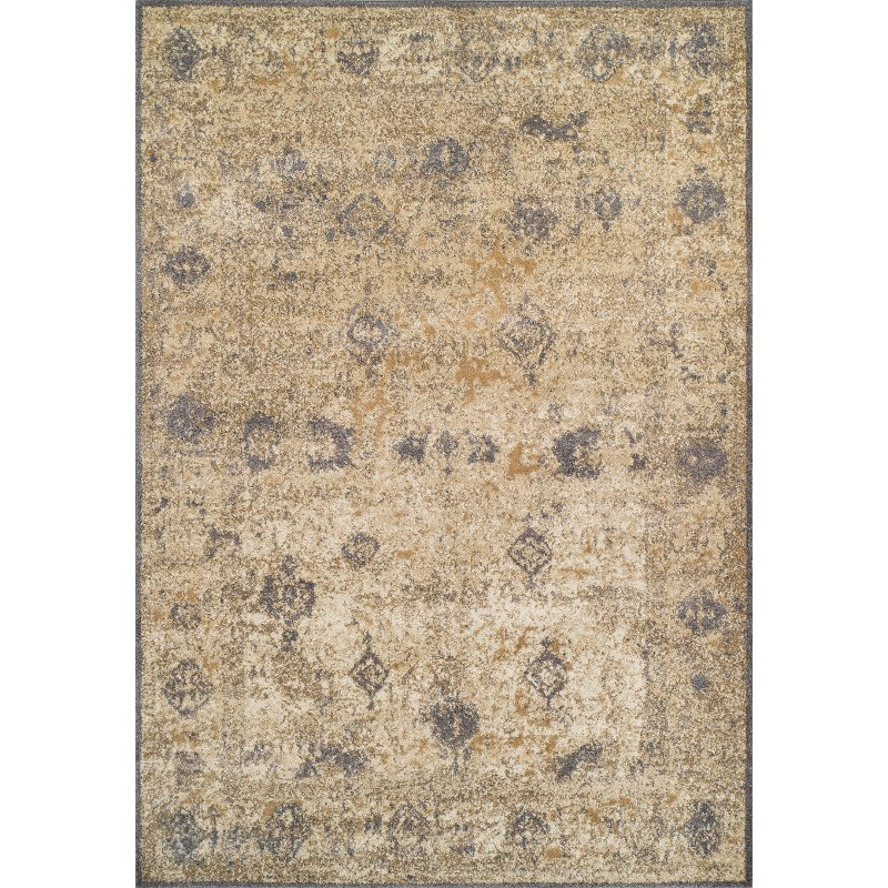 Dalyn Ivory Amp Gray 8 X 11 Antiquity Area Rug