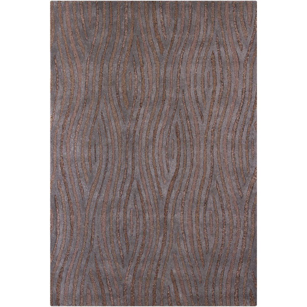 8 X 11 Large Contemporary Brown And Gray Area Rug Penelope Rc Willey Furniture Store
