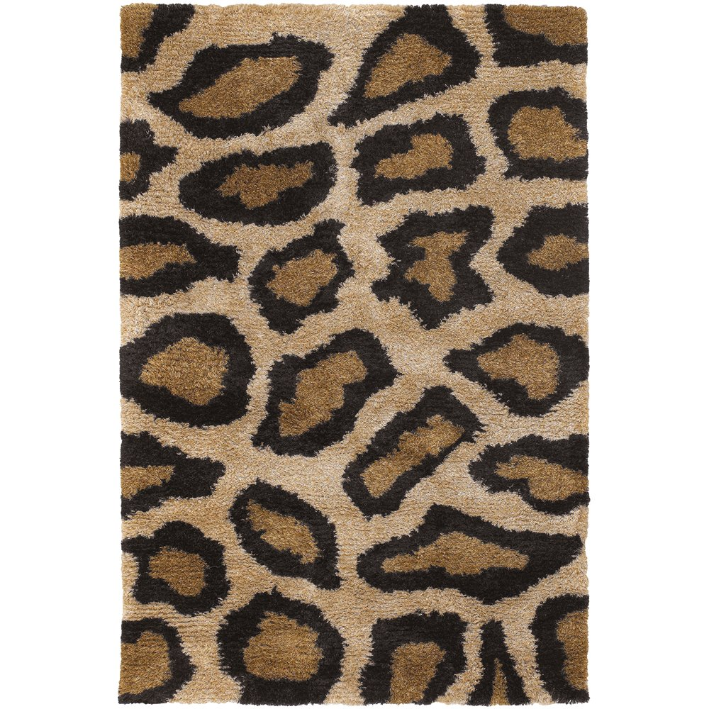 6bde649b87 8 x 11 Large Cheetah Print Tan Area Rug - Amazon
