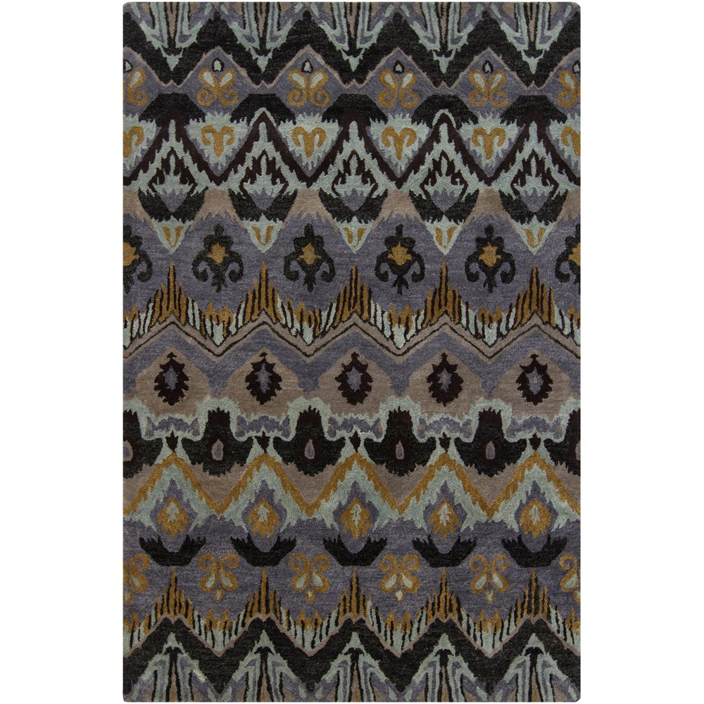 Large Area Rugs Gold: 8 X 11 Large Contemporary Gray, Taupe And Gold Area Rug