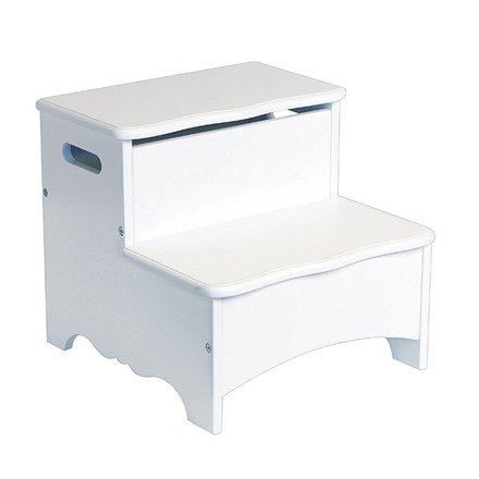 Incredible Storage Step Stool Classic White Pdpeps Interior Chair Design Pdpepsorg