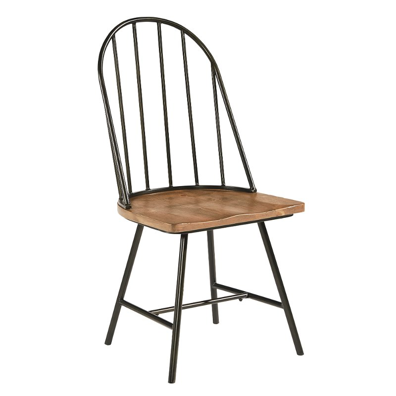 Shop Dining Room Chairs: Magnolia Home Furniture Blacked Bronze And Bench Dining