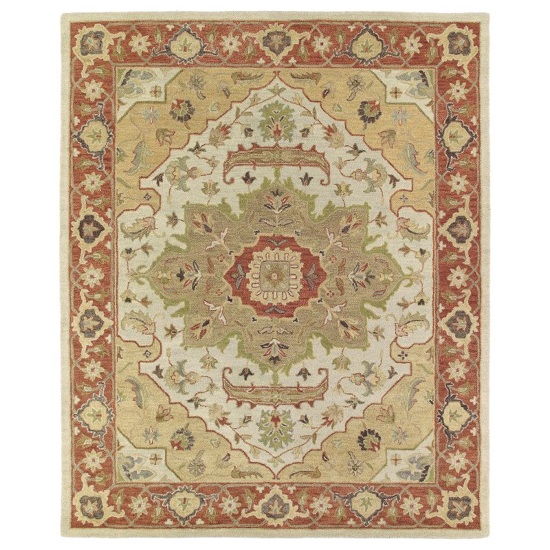 Terracotta Orange Area Rug