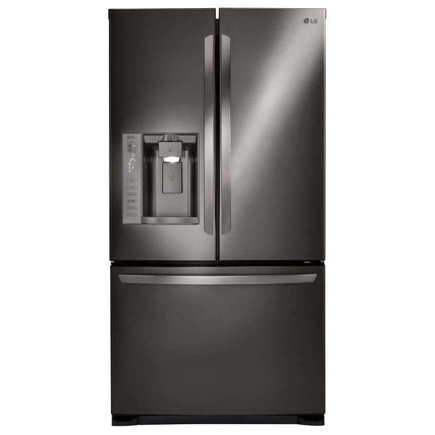 Lg 36 Inch French Door Black Stainless Steel Rc Willey