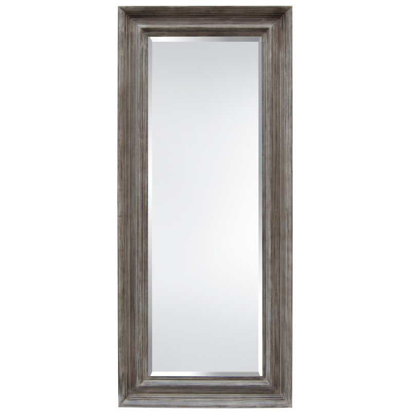 Distressed Wood Frame Mirror | RC Willey Furniture Store