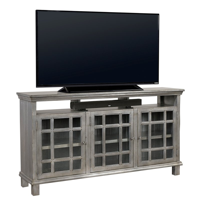 Rc Willey Tv Deals: 65 Inch Metallic Blue TV Stand - Preferences