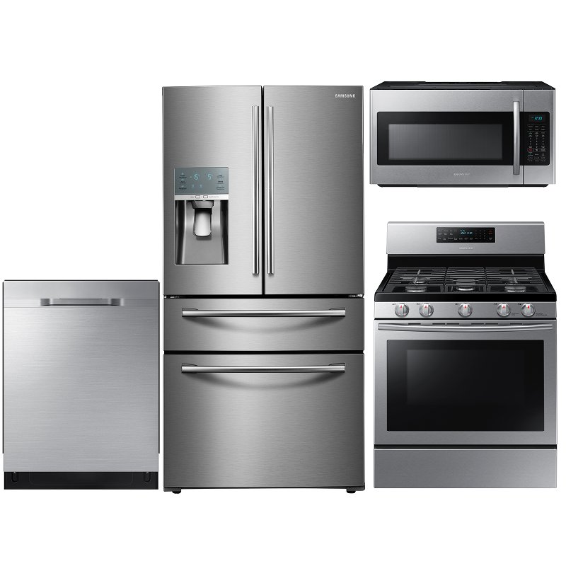 Samsung 4 Piece Kitchen Appliance Package Stainless