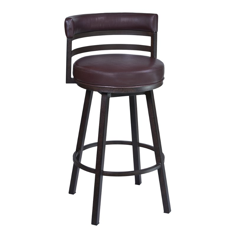 quality design b65d5 dcc83 Contemporary Swivel Counter Height Stool - Madrid