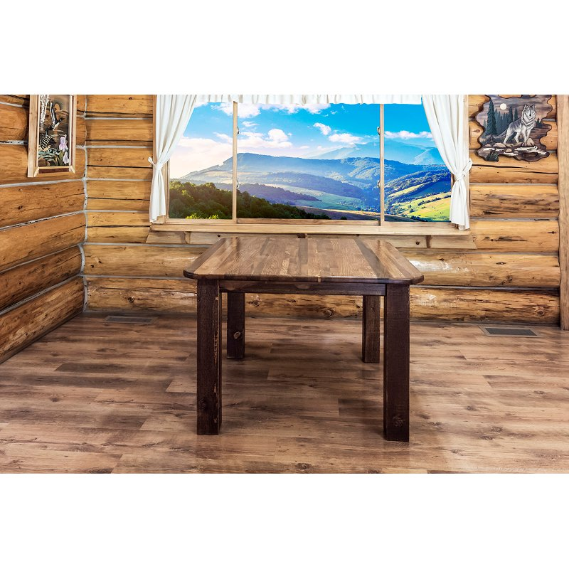 Rustic Square Dining Table - Homestead