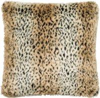 Black Fur Throw Pillows : Tan & Black Faux Fur Throw Pillow RC Willey Furniture Store