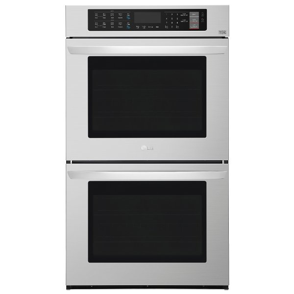 Lg Double Wall Oven 9 4 Cu Ft Stainless Steel Rc Willey Furniture