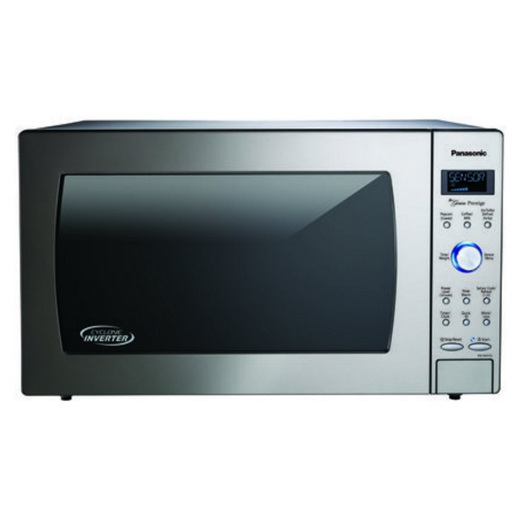 Nn Sd975s Panasonic 23 Inch Stainless Steel 2 Cu Ft Microwave Oven