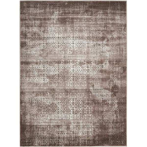 8 X 11 Large Ash Brown Area Rug Karma Rc Willey Furniture Store