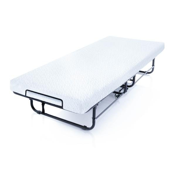 Twin Bed Mattress.Rollaway Bed With Premium Gel Memory Foam Twin Mattress Structures