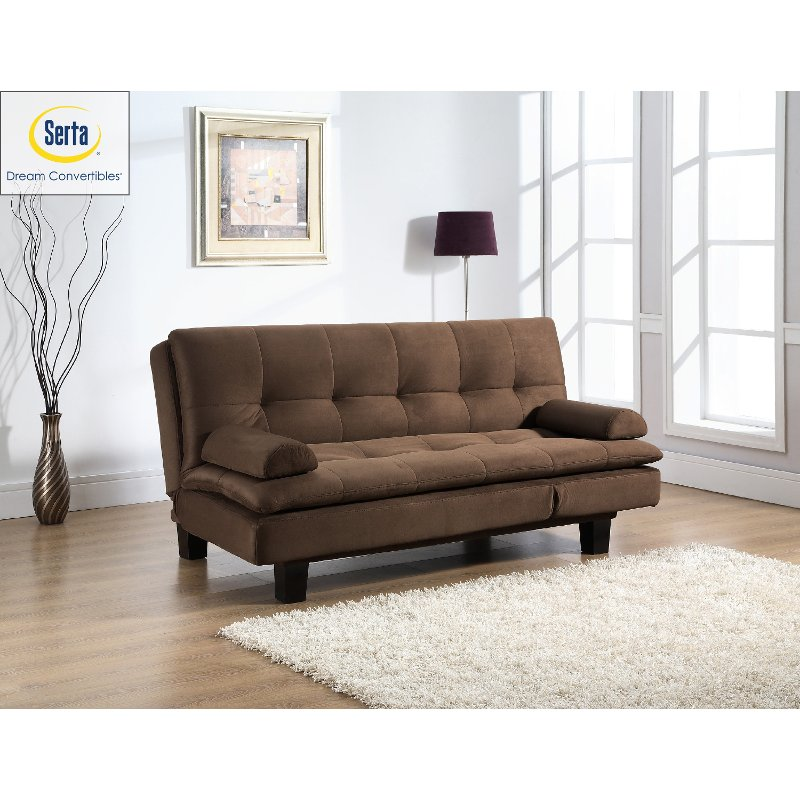 Serta Convertible Sofa Bed Adelaide Rc Willey