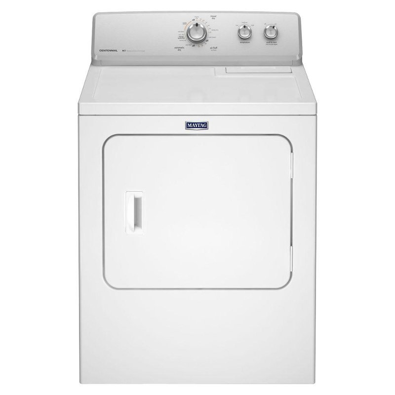 Maytag 7 Cu. Ft. Front Load Gas Dryer - White