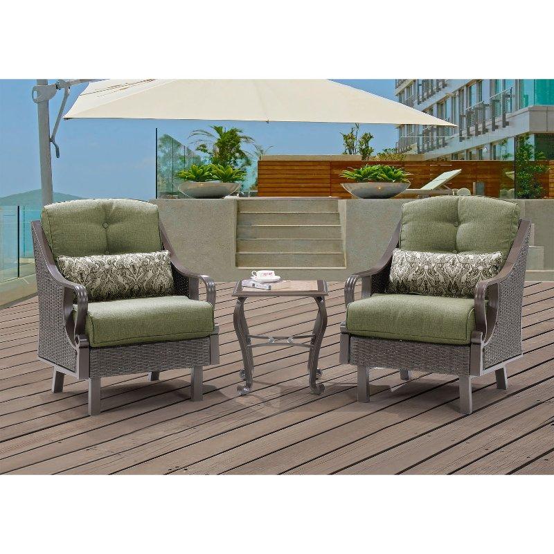 Patio Furniture Stores In Ventura Ca: Outdoor 3 Piece Patio Set - Ventura
