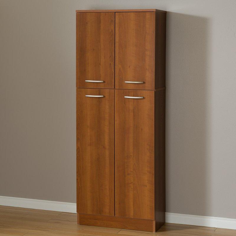 10102 Cherry 4 Door Storage Pantry   Axess
