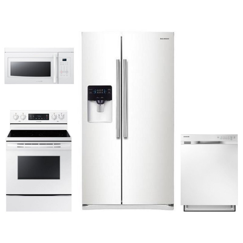 Samsung 4 Piece Electric Kitchen Appliance Package