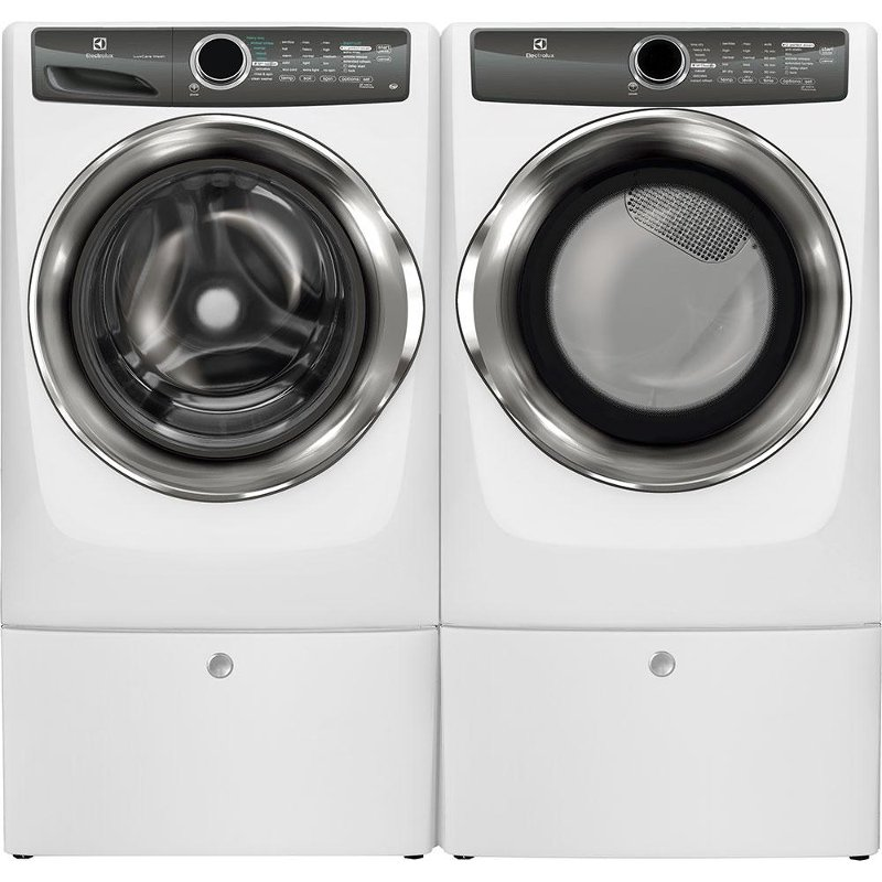 Electrolux Front Load Washer And Gas Dryer Set White