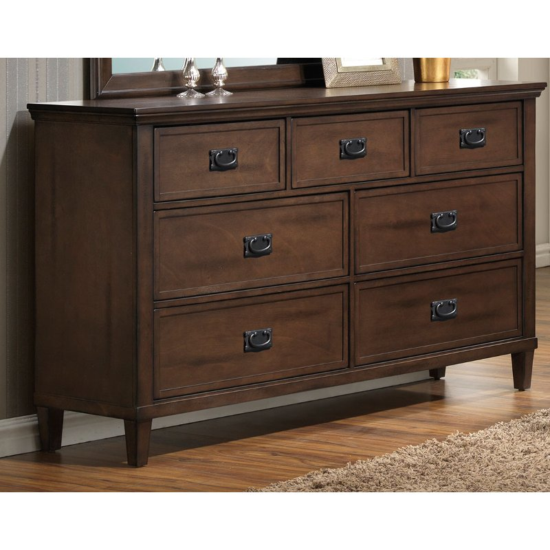Rc Willey Dressers: Brown Classic Dresser - Park City